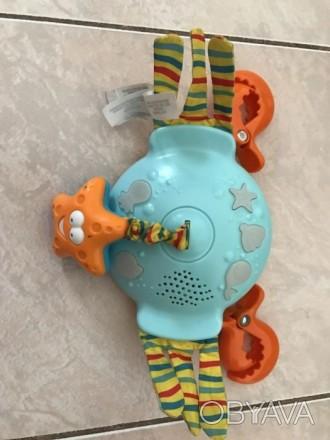 Подвеска музыкальная Tiny Love (Тини Лав) Веселый краб- это светомузыкальная игр. Киев, Киевская область. фото 1