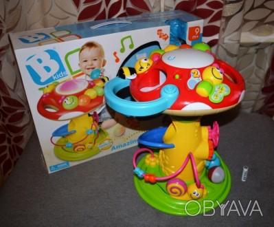 Blue box Развивающий центр Удивительный грибок Чудесная развивающая игрушка для . Лиман (Красный Лиман), Донецкая область. фото 1