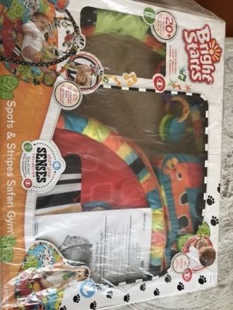 Развивающий коврик для деток от 0 мес:в комплекте дуги для игрушек,коврик,игрушк. Полтава, Полтавська область. фото 4