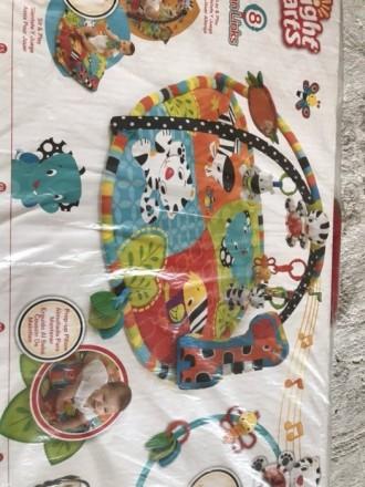 Развивающий коврик для деток от 0 мес:в комплекте дуги для игрушек,коврик,игрушк. Полтава, Полтавська область. фото 3