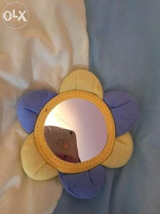 Наш развивающий коврик в отличном состоянии! Модное сочетание цветов желтый и го. Бердянск, Запорожская область. фото 5