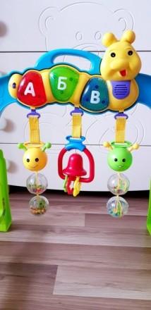 Продам развивающую дугу , которая очень нравилась моему ребенку. Модно играть и . Одесса, Одесская область. фото 3