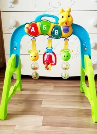 Продам развивающую дугу , которая очень нравилась моему ребенку. Модно играть и . Одесса, Одесская область. фото 2