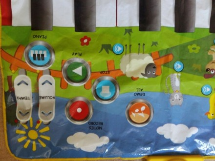 Продам большой развивающий коврик для деток.Состояние нового, очень добротный,он. Дніпро, Дніпропетровська область. фото 3