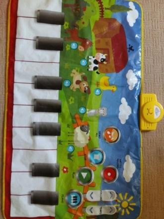 Продам большой развивающий коврик для деток.Состояние нового, очень добротный,он. Дніпро, Дніпропетровська область. фото 2
