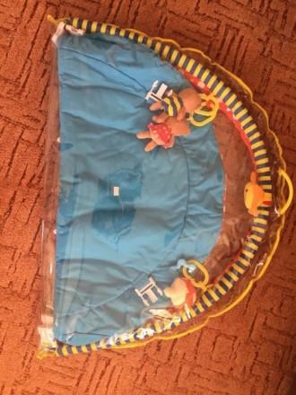 Продам развивающийся коврик. Подходит и для девочек, и для мальчиков. Все в комп. Ніжин, Чернігівська область. фото 3