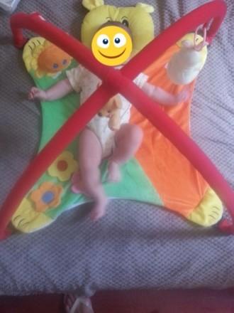 Развивающий коврик для малышей. В очень хорошем состоянии. Смотрите и другие мои. Днепр, Днепропетровская область. фото 2