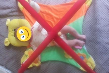 Развивающий коврик для малышей. В очень хорошем состоянии. Смотрите и другие мои. Днепр, Днепропетровская область. фото 3