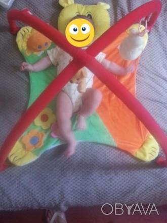 Развивающий коврик для малышей. В очень хорошем состоянии. Смотрите и другие мои. Днепр, Днепропетровская область. фото 1