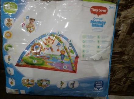 """Яркий игровой коврик с дугами Tiny Love """"Остров обезьян""""станет любимым местом в. Одеса, Одеська область. фото 3"""