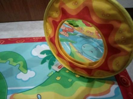 """Яркий игровой коврик с дугами Tiny Love """"Остров обезьян""""станет любимым местом в. Одеса, Одеська область. фото 6"""