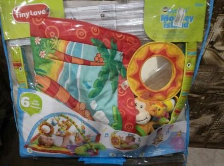 """Яркий игровой коврик с дугами Tiny Love """"Остров обезьян""""станет любимым местом в. Одеса, Одеська область. фото 2"""