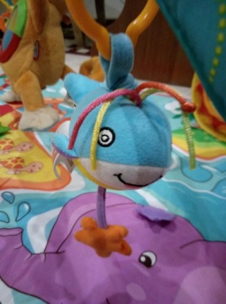 """Яркий игровой коврик с дугами Tiny Love """"Остров обезьян""""станет любимым местом в. Одеса, Одеська область. фото 5"""