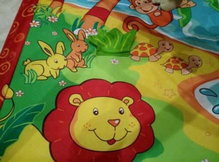 """Яркий игровой коврик с дугами Tiny Love """"Остров обезьян""""станет любимым местом в. Одеса, Одеська область. фото 4"""