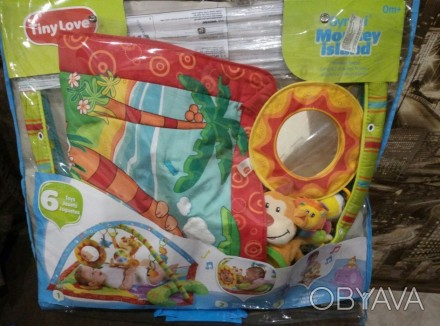 """Яркий игровой коврик с дугами Tiny Love """"Остров обезьян""""станет любимым местом в. Одеса, Одеська область. фото 1"""