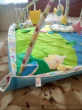 Продам развивающий коврик, новый, не пользовались, покупала на розетке. Развиваю. Киев, Киевская область. фото 6