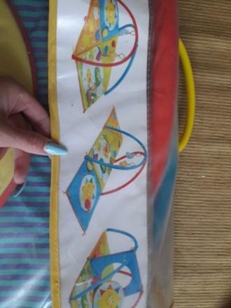 Развивающий коврик Chicco 3D Baby Park. Состояние на 4. 3-6 месяцев: мягкие ковр. Мелитополь, Запорожская область. фото 4