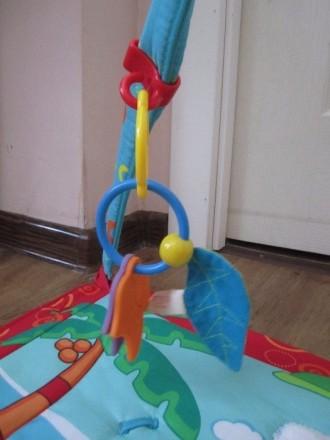 Игровой развивающий коврик Tiny Love в отличном состоянии, практически не пользо. Мариуполь, Донецкая область. фото 6