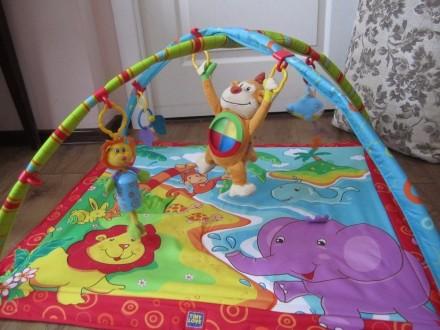 Игровой развивающий коврик Tiny Love в отличном состоянии, практически не пользо. Мариуполь, Донецкая область. фото 2