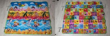 Супер термо развивающие коврики. На которых есть картинки, буквы, слова. Их можн. Запоріжжя, Запорізька область. фото 6