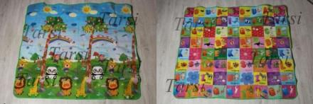 Супер термо развивающие коврики. На которых есть картинки, буквы, слова. Их можн. Запоріжжя, Запорізька область. фото 5
