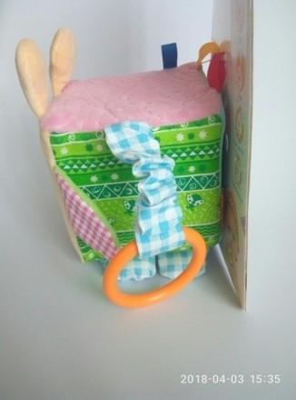 МАСІК Україна Кубик-подвеска TM Macik помогает малышу с интересом изучать окружа. Днепр, Днепропетровская область. фото 4