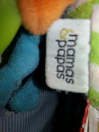 Игрушка повеска на коляску или кроватку.внутри есть пищалка,шуршит,торохтит,зерк. Сумы, Сумская область. фото 3