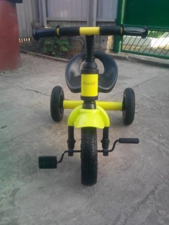 Детский велосипед Bambi M-2382A.Состояние нового.  Легкий трёхколёсный велосипе. Оріхів, Запорізька область. фото 4