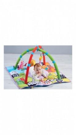 Развивающий коврик Taf toys.В комплекте — съемные дуги с двумя интерактивными по. Мелитополь, Запорожская область. фото 6