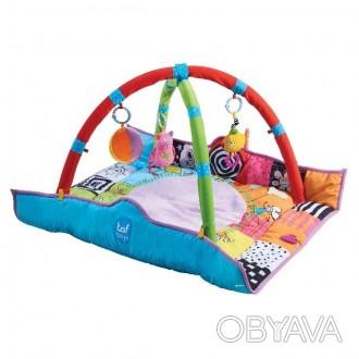 Развивающий коврик Taf toys.В комплекте — съемные дуги с двумя интерактивными по. Мелитополь, Запорожская область. фото 1
