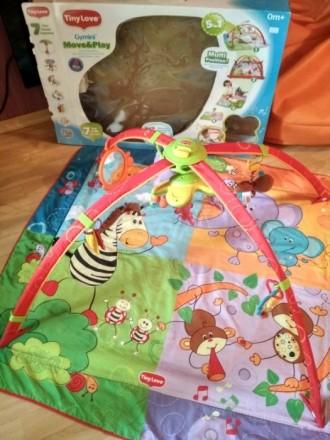 Pазвивающий детский коврик 0+ после одного ребенка в хорошем состоянии, единстве. Київ, Київська область. фото 2