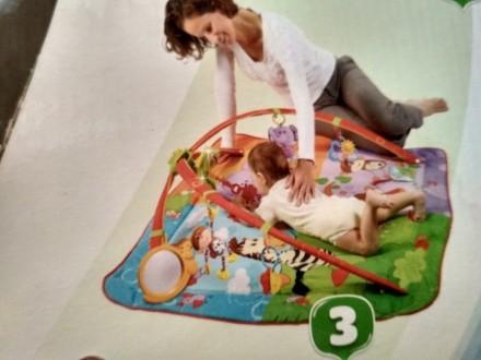 Pазвивающий детский коврик 0+ после одного ребенка в хорошем состоянии, единстве. Київ, Київська область. фото 6