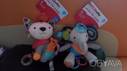 Новые фирменные игрушки-подвески, развивающие мелкую моторику, сенсорику и слух . Бердянск, Запорожская область. фото 1