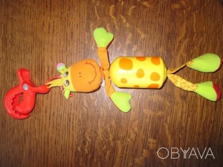 Подвеска на каляску жирафа Tiny Love в идеальном состоянии. Вышгород, Киевская область. фото 1
