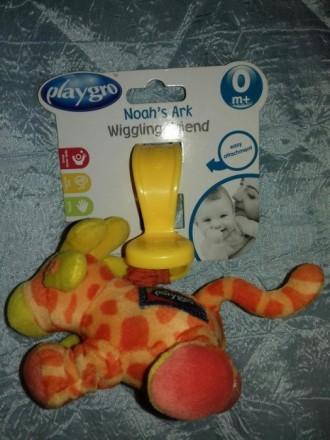 Новая подвеска на коляску или кроватку. Дрожащий жираф. Фирма Playgro. С биркой.. Киев, Киевская область. фото 6