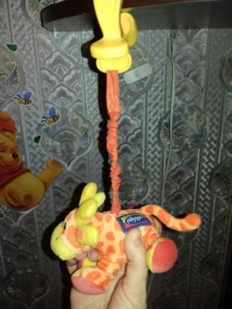 Новая подвеска на коляску или кроватку. Дрожащий жираф. Фирма Playgro. С биркой.. Киев, Киевская область. фото 4