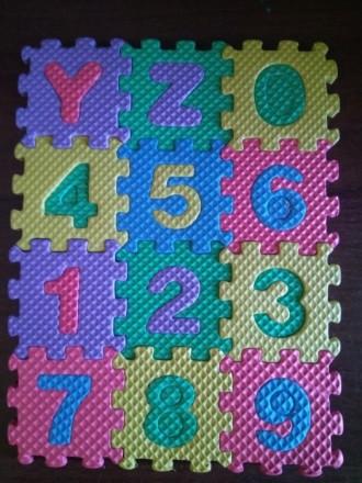 Новый мини детский развивающий коврик, английский алфавит и цифры до 10. Дополни. Чернигов, Черниговская область. фото 4