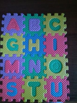 Новый мини детский развивающий коврик, английский алфавит и цифры до 10. Дополни. Чернигов, Черниговская область. фото 5