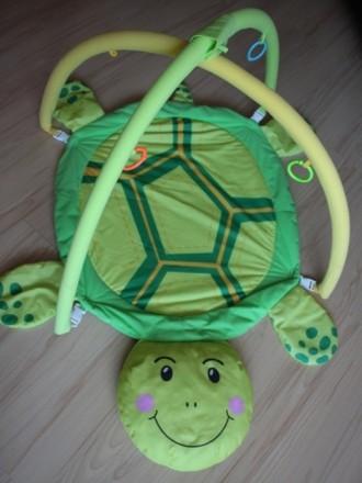Продам детский развивающий игровой коврик, можно подвесить любые игрушки, лапки . Київ, Київська область. фото 3