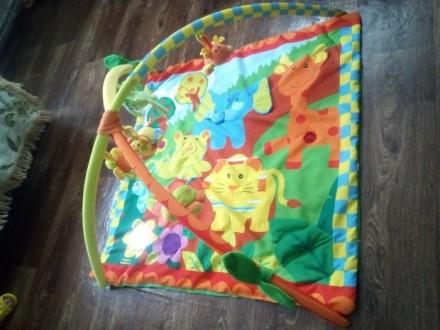 Коврик в хорошем состоянии.Тот кто купит этот коврик будет рад а ребёнок будет с. Теплик, Винницкая область. фото 5