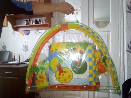 Коврик в хорошем состоянии.Тот кто купит этот коврик будет рад а ребёнок будет с. Теплик, Винницкая область. фото 3