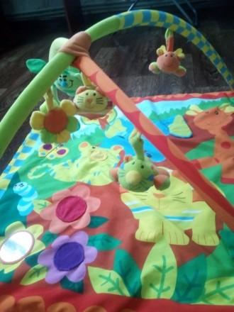 Коврик в хорошем состоянии.Тот кто купит этот коврик будет рад а ребёнок будет с. Теплик, Винницкая область. фото 4