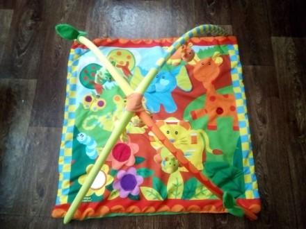 Коврик в хорошем состоянии.Тот кто купит этот коврик будет рад а ребёнок будет с. Теплик, Винницкая область. фото 2