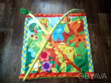 Коврик в хорошем состоянии.Тот кто купит этот коврик будет рад а ребёнок будет с. Теплик, Винницкая область. фото 1