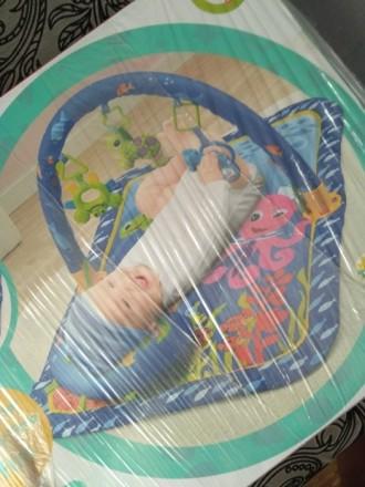 Продам развивающий коврик 0+. Использовался месяц, не грязный , не порванный без. Дніпро, Дніпропетровська область. фото 3
