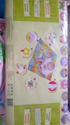 Коврик подойдёт деткам с рождения. Развивает сенсорику. Производитель Украина. Полтава, Полтавская область. фото 3