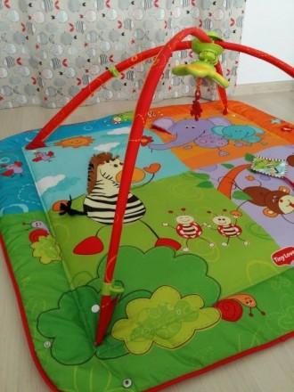 Продается развивающий коврик для деток Tiny Love. Состояние нового, было подарен. Київ, Київська область. фото 4
