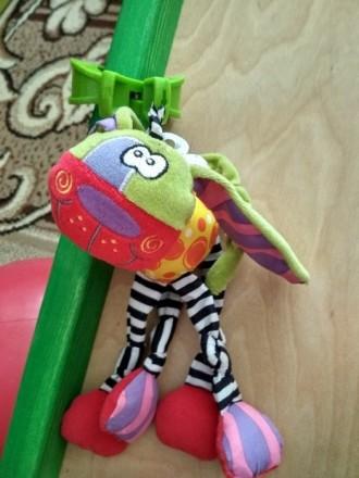 Продам игрушку подвеску - собачку фирмы Playgro в отличном состоянии. В игрушке . Славутич, Київська область. фото 2