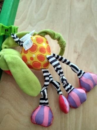 Продам игрушку подвеску - собачку фирмы Playgro в отличном состоянии. В игрушке . Славутич, Київська область. фото 3