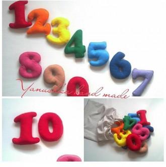 здраствуйте! мягкие, яркие буквы и цифры очень нравятся деткам, их можна крепить. Косів, Івано-Франківська область. фото 5